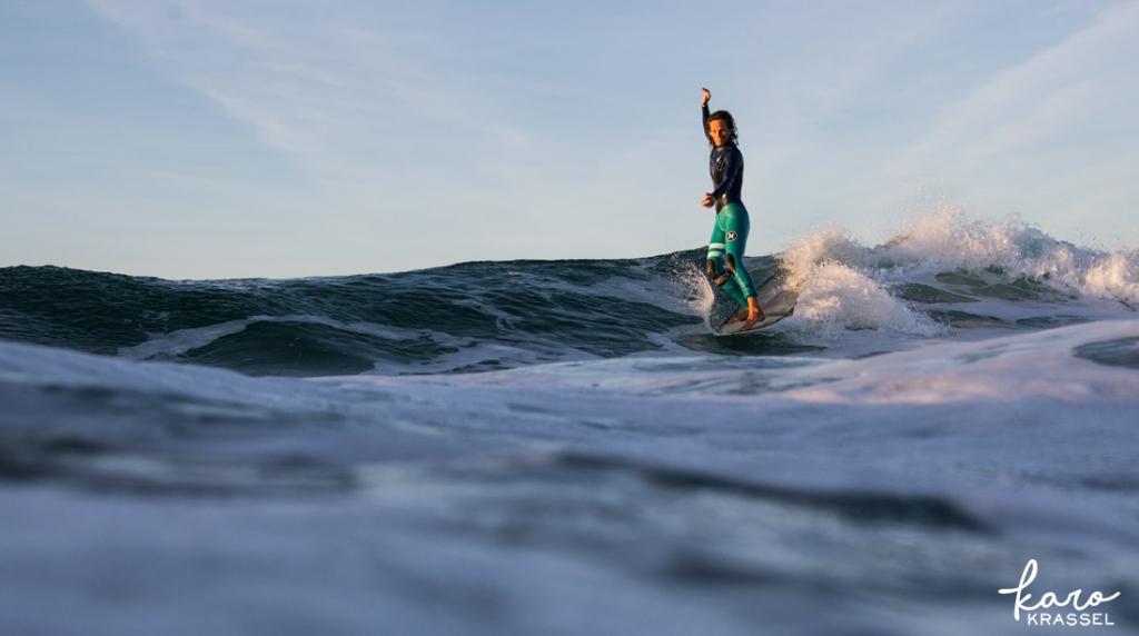 Longboard Surfphotography by Karo Krassel